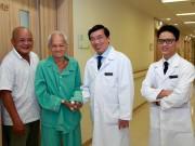 Tin tức sức khỏe - Thay van tim thành công, cụ ông 90 tuổi đi lại được sau 7 năm liệt giường