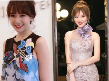 Hari Won ngày càng trẻ đẹp, Thụy Vân lộ mặt tròn xoe với tóc mái