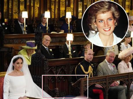 Sự thật về chiếc ghế trống tưởng nhớ Công nương Diana bên cạnh Hoàng tử William trong đám cưới