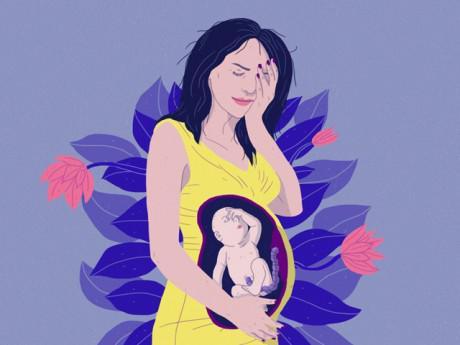 Đang mang bầu, mẹ làm những việc này bé trong bụng sẽ rất... sợ