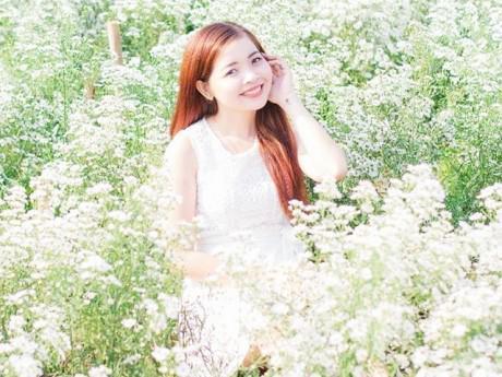 Phát cuồng với cánh đồng hoa đẹp như cõi mơ ở Tiền Giang
