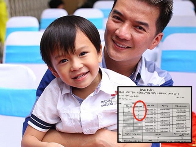 Khen 2 con ngoan, học giỏi, Mr Đàm khiến dân mạng chú ý bảng kết quả học tập khủng
