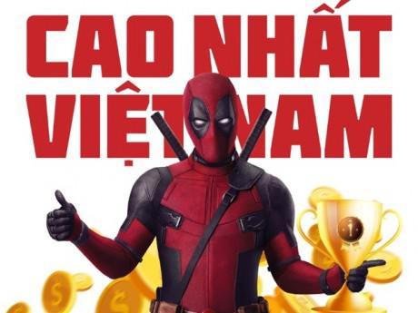 """Bất chấp mác 18+, gã """"lầy lội"""" Deadpool vẫn kiếm hàng chục tỷ tại Việt Nam"""