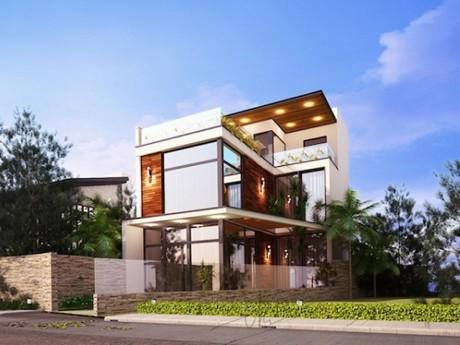 """Muốn xây nhà 2 tầng đẹp """"nhất phố"""", phải xem ngay những mẫu thiết kế cực chất này"""