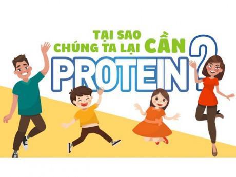 Tại sao chúng ta lại cần Protein?