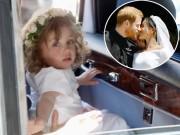 Giải trí - Thân thế của cô phù dâu nhí xinh như thiên thần bật khóc trong đám cưới Hoàng tử Harry