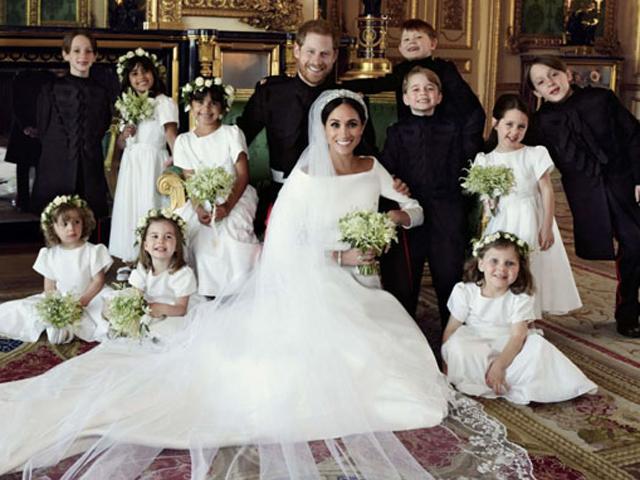 Cung điện công bố ảnh cưới chính thức của Hoàng tử Harry và tân Công nương Meghan Markle