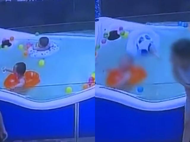 Bé trai 7 tháng nguy kịch vì lật phao cảnh báo phụ huynh khi cho con đi bơi mùa hè