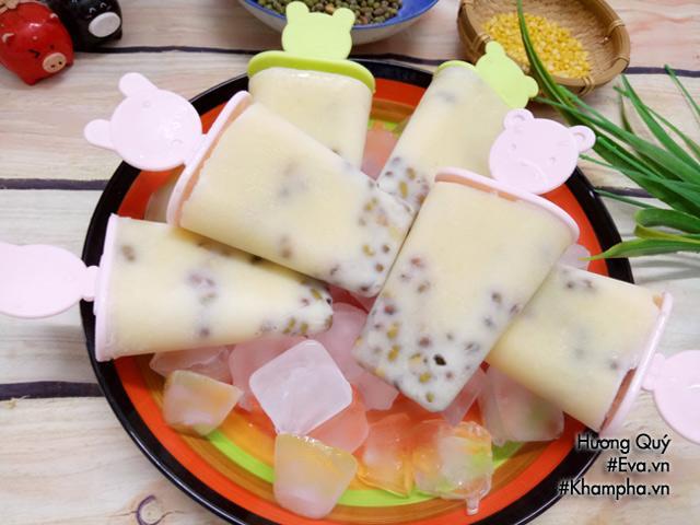 Cách làm kem đậu xanh thơm bùi, lạnh tê lưỡi cho ngày hè