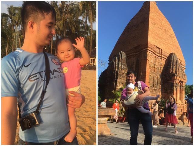 Bé Hà Nội khiến người lớn phải ghen tỵ vì 1 tuổi đã đi du lịch khắp đất nước