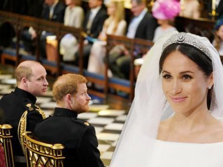 Hoàng tử William lần đầu nói về em dâu mới và trêu chọc cái đầu hói của Harry