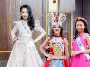 13 tuổi cao 1m72, bé gái Việt vượt 10.000km đến Thổ Nhĩ Kỳ đoạt ngôi Hoa hậu Hoàn vũ nhí