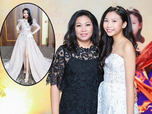 Mẹ bé gái Hoa hậu Hoàn vũ nhí tiết lộ con uống sữa thay cơm để 13 tuổi cao 1m72