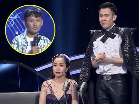 Dương Triệu Vũ xin lỗi bố của cậu bé Tèo Em khi quyết định đặt tên mới cho bé