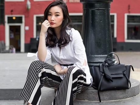 Thời trang - Blogger gốc Việt mặc đẹp nức tiếng dù chỉ cao vỏn vẹn 1m58