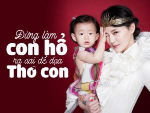 Mẹ chồng cũng phải tâm phục khẩu phục với phương pháp dạy con của Từ Hy Viên