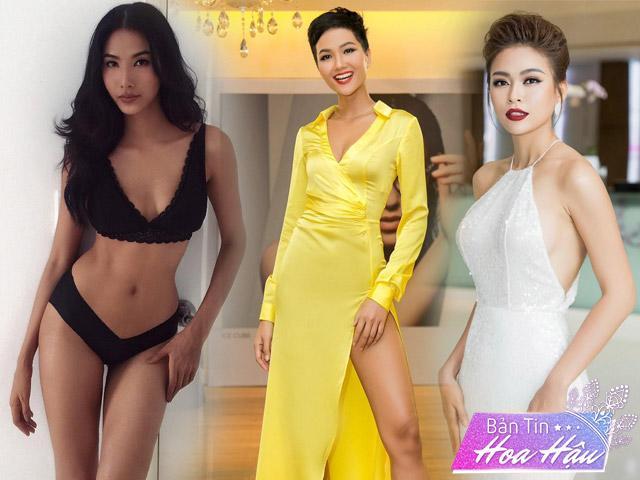 3 mỹ nhân đình đám nhất Hoa hậu Hoàn vũ Việt Nam khoe vẻ đẹp cùng tiến