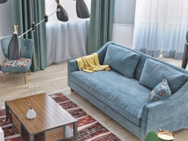 Nhà chật đến mấy cũng có thể thiết kế phòng khách đẹp mà lại sang - xịn bất ngờ