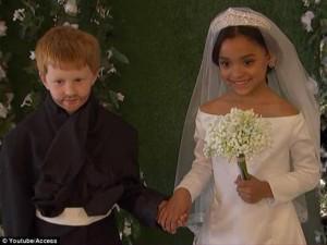 """Đám cưới """"Hoàng tử Harry và Công nương Meghan Markle"""" phiên bản nhí hút 6 triệu lượt xem"""