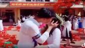 Tiết lộ bất ngờ về cặp đôi hôn nhau giữa sân trường ngày bế giảng