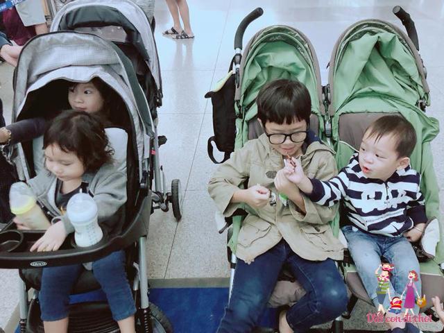 Bị fan nói chụp ảnh đưa 4 con đi Mỹ giấu mấy vú nuôi, Minh Hà đáp trả cứng rắn