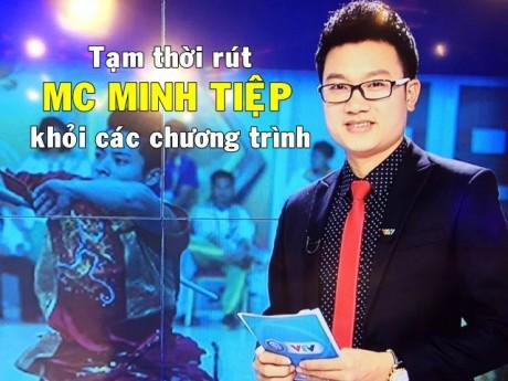 VTV trả lời về việc dừng sóng MC Minh Tiệp sau thông tin bạo hành em vợ