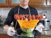 Bếp Eva - Thêm cách bày hoa quả siêu đơn giản mà hút mắt, mẹ chồng khó tính cũng phải khen dâu đảm