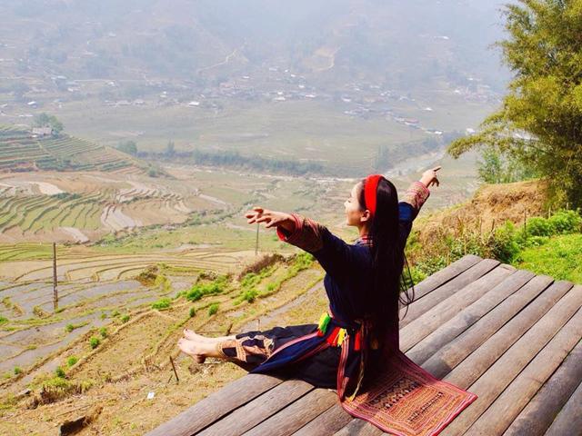 Mê mẩn homestay ngắm toàn cảnh thung lũng ruộng bậc thang ngút ngàn