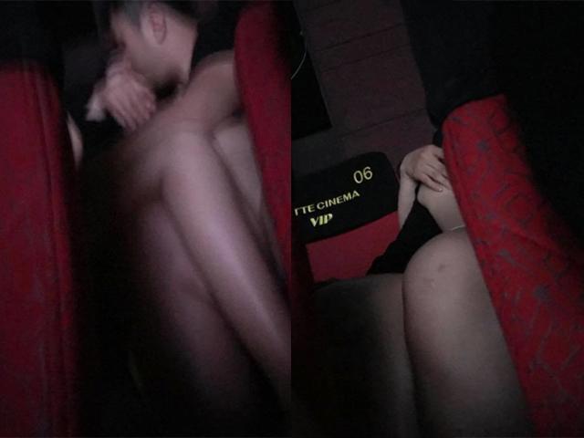 Bức ảnh chụp trộm cặp đôi vô tư mây mưa tại rạp phim khiến người xem nóng mặt
