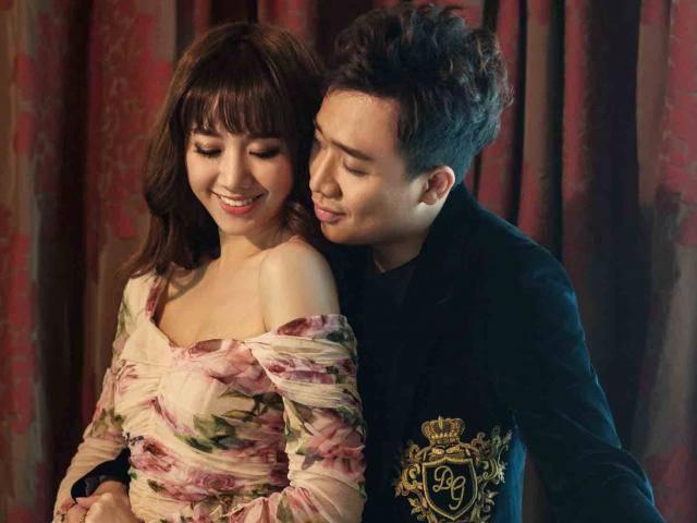 Trấn Thành - Hari Won tung bộ ảnh kỷ niệm 17 tháng hôn nhân viên mãn