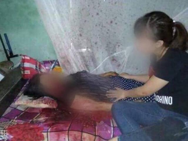 Án mạng kinh hoàng: Ghen tuông, chồng giết vợ trên giường ngủ rồi uống thuốc diệt cỏ