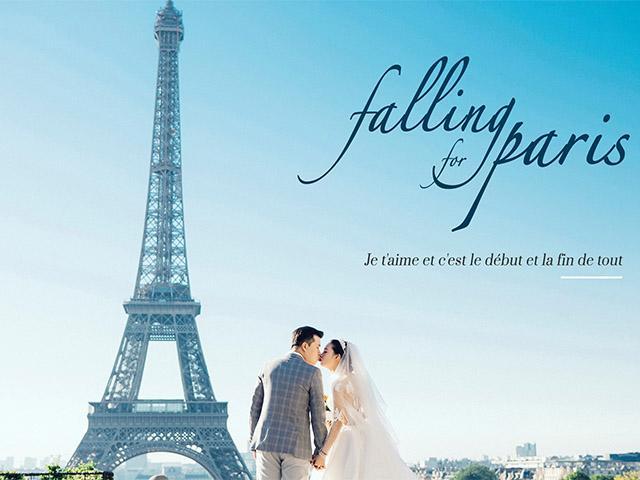 Bộ ảnh cưới được đầu tư khủng của cặp đôi quen qua mạng khiến dân tình phát hờn