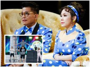 Việt Hương khóc như mưa trong đêm Chung kết Cặp Đôi Hài Hước