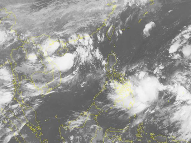 Biển Đông chính thức hứng cơn bão số 2 trong năm 2018, gió giật cấp 10