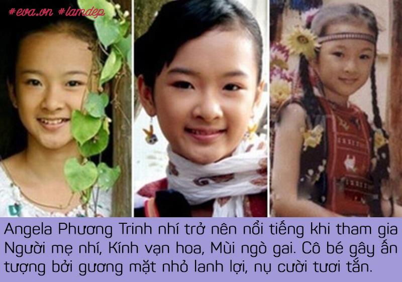 Angela Phương Trinh là nghệ sĩ hoạt động năng nổ nhất trong dàn sao nhí một thời.