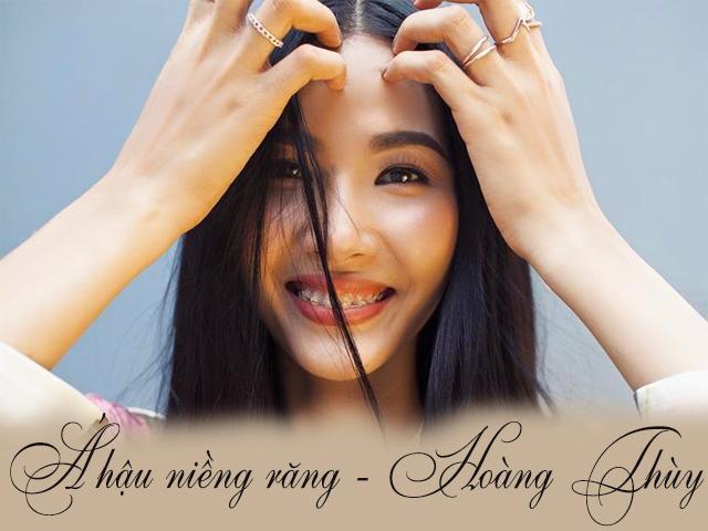 Hoàng Thùy khoe mình là Á hậu đầu tiên đeo niềng răng, chuẩn bị đến với Miss Universe 2019?