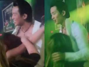 Đan Nguyên bị fan nữ cởi áo, ôm hôn lên ngực khi đang diễn