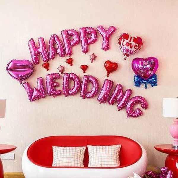 5 cách trang trí phòng cưới đơn giản nhưng đẹp ấn tượng cho cặp đôi sắp cưới - 7