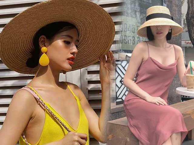 3 kiểu mũ cói vừa đẹp vừa chống nắng hiệu quả, bảo sao lại không hot!