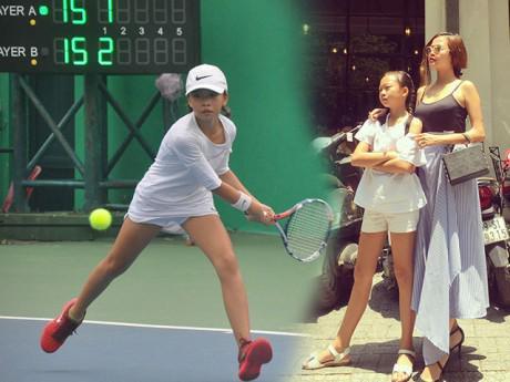 Bé gái lớp 4 cao 1m5, vô địch giải Tennis trẻ Tp.Hồ Chí Minh khiến dân tình choáng váng