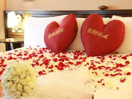 5 cách trang trí phòng cưới đơn giản nhưng đẹp ấn tượng cho cặp đôi sắp cưới