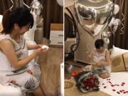Liệu có ai sướng như mẹ bầu này, được chồng tổ chức sinh nhật lãng mạn như phim Hàn