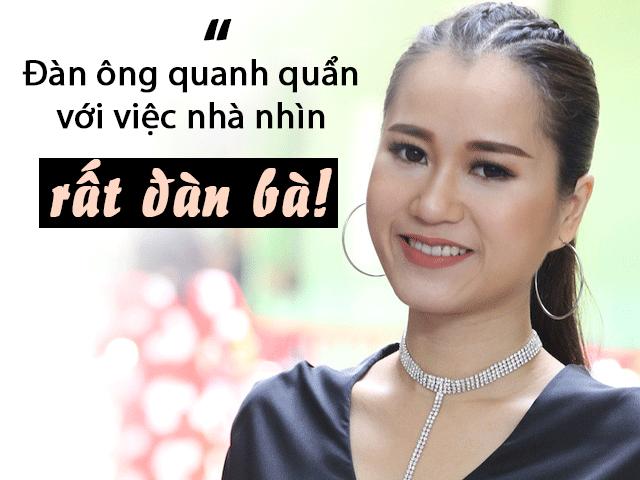 Everyone like Lam Vy Da: I do not like men washing dishes, sweeping the house, washing clothes!