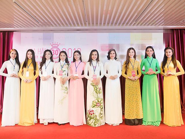 31 thí sinh xinh đẹp đầu tiên của Hoa hậu Việt Nam 2018 đã chính thức lộ diện