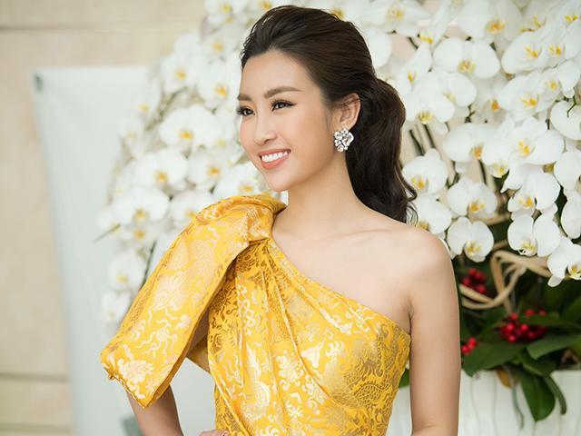 Chiếc váy rồng vàng giúp Đỗ Mỹ Linh tỏa sáng tại sơ khảo Hoa hậu Việt Nam 2018