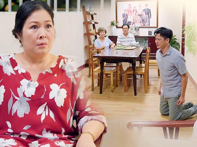 Cảnh con rể quỳ lạy xin mẹ vợ… từ mặt vợ mình đầy trớ trêu, khiến khán giả phát sốt