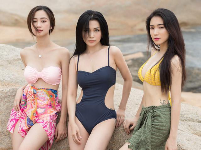 Diện bikini nửa kín nửa hở chuẩn như Hoà Minzy, Jun Vũ và Sĩ Thanh