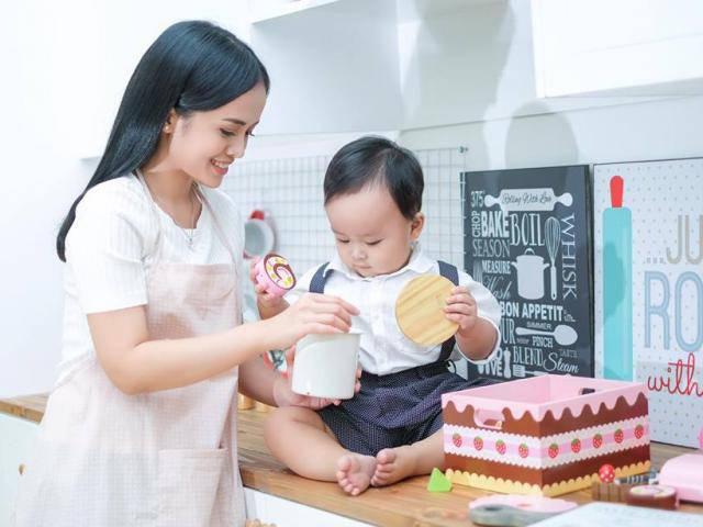 Mê mẫu giáo Nhật, nữ diễn viên 9x làm mẹ đơn thân lặn lội sang Tokyo học cách chăm con