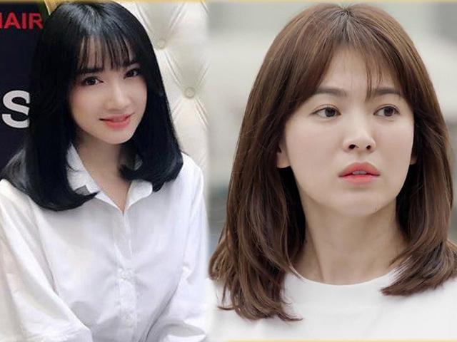 Giữa tin đồn đóng Hậu Duệ Mặt Trời, Nhã Phương cắt tóc giống hệt Song Hye Kyo