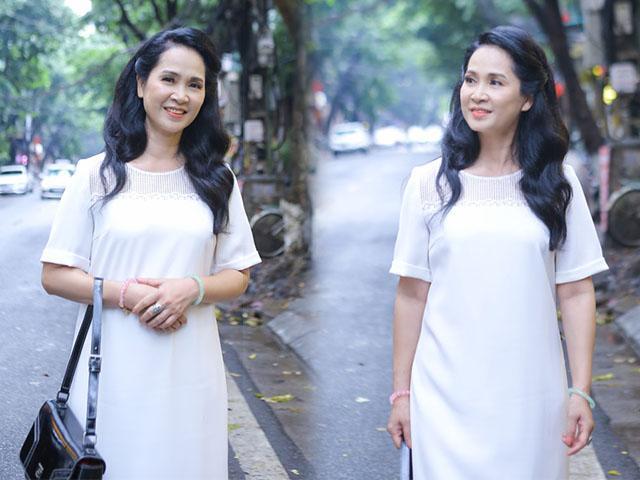Mẹ chồng Lan Hương khoe làn da đẹp bất chấp tuổi tác